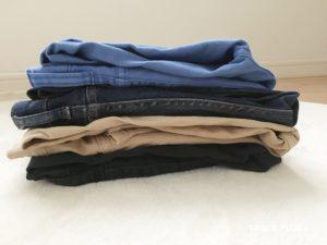 パンツ 畳み方